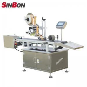 China Automatic page separating labeling machine for pouch labeling machine for pouch on sale