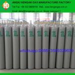 Argon cylinder with argon gas