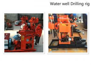 China Hydraulic Water Well Drilling Rig 180m Depth Drilling For Geotechnical Investigation on sale