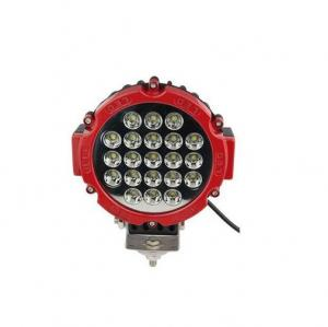 China 7 inch 63W Factory round LED work light,  Osram spot/flood/combo beam for car Jeep offroad on sale