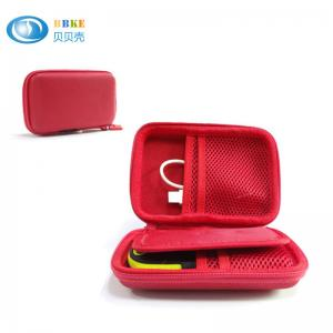 China RED Popular Moblie Hard Drive Storage Case , Eva Carrying Case 15.5*10*4cm on sale