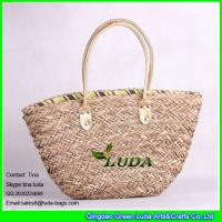 LUDA summer fashion 2013 straw bags natural seagrass straw handbags