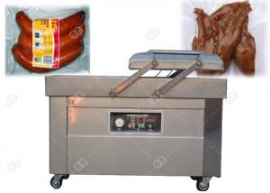 China Commercial Double Chamber Vacuum Packing Machine 304 Stainless Steel For Sausage Grain on sale