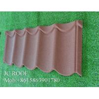 China Factory supply low price wind resistance stone coated metal roofing tile step tile with 50 year warranty for sale on sale