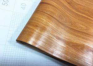 China PVC Vinyl Self Adhesive Wood Grain Wallpaper Peel And Stick Wood Grain Wallpaper on sale