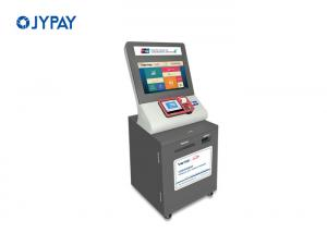 China Gray TFT Touch Screen Payment Kiosk With Windows / Android / Linux Operating System on sale