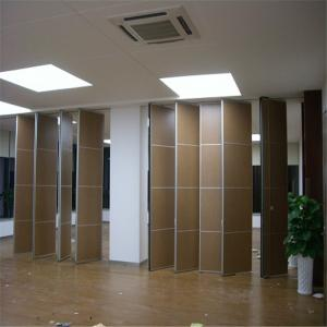 China Fabric Surface Mobile Door Sliding Folding Soundproofing Partition Walls For Banquet Hall on sale