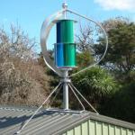 Residencial/casa fora de refrigerar do vento do sistema de energia 600W da turbina eólica da grade