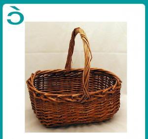 China Wicker Basket/ Fruit Basket on sale