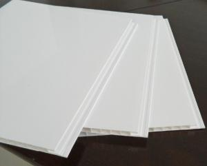 China Sound Absorbing PVC Ceiling Panels With PVC Resin For Restaurant 8mm Thickness on sale