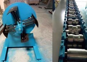 China Color Steel Sheet Door Frame Roll Forming Machine 380 V 50 Hz 3 Phase Voltage on sale