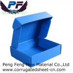 2-12mm white/yellow/blue/green color cheap price PP Corrugated Plastic Storage Box for packing industry