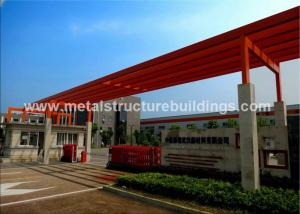 China Lightweight Metal Steel Buildings Construction Corrosion Resistant , High Strength Structure on sale