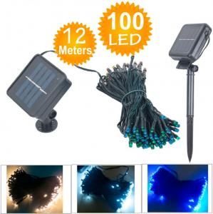 China Waterproof Solar Lamps Power LED String Garlands Lights Solar Garden Christmas Lights on sale