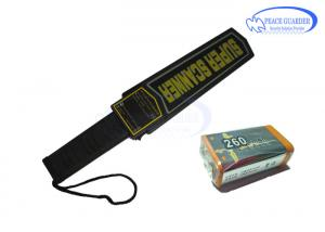 China Rechargeable Light Weight Portable Metal Detector For Checking Subway Riders on sale