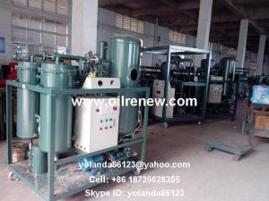 China Used Turbine Oil Reconditioning, Oil Renewing Machine Series TY on sale