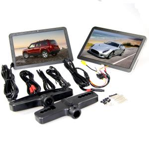 China 10.1 inch Capacitive Touch Screen Active Headrest DVD Player , Car Headrest Monitor on sale