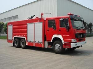 China Steyr Rear 12T foam firefighting truck on sale