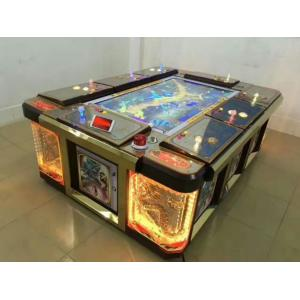 China 32 Inch Display Fish Table Games , Custom Crab King Fish Shooting Game Machine on sale