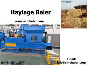 China Haylage Baler For Sale on sale