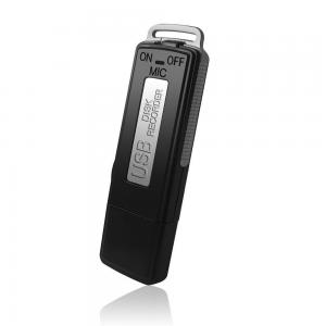 China 16GB Digital Audio Voice Recorder /  Dictaphone / USB Pen Drive 150 Hours on sale