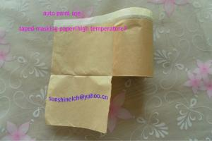 China PMF masking paper with automotive masking tape on sale