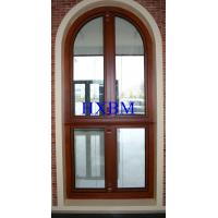 China Soundproof Metal Clad Wood Windows , Security Internal Double Glazed Window Units on sale