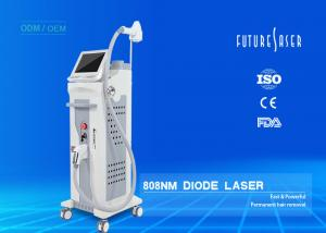 China 808nm Diode Laser For Hair Removal , Permanent Hair Removal Laser Machine Extended Working Life on sale