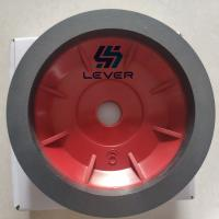 China Resin bonded cup bevelling diamond grinding wheel 4'' 5 6'' 7'' position for glass deep process on sale