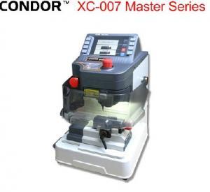 China English Version Car Key Programmer , IKEYCUTTER CONDOR XC-007 Master Series Key Cutting Machine on sale