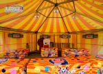 Round Hexagon Multi Sides Outdoor Event Tents / Party Wedding Exhibition Marquee