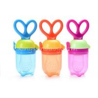 Baby Food Bottle Feeder  	Silicone Baby Teether Fresh Weaning Food Soother Container