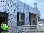 Perforated Sheet Alulminum Facade 3mm Thickness PVDF For Curtain Wall