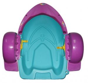 China Mini Hand Water Inflatable Toy Boat Swimming Pool Plastic Paddle Boat on sale