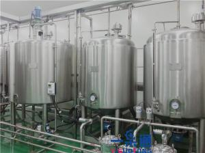 China Juice Drink Automatic Cip System / Cip Equipment To Wash Pipe , Tank on sale