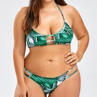 China Plus size xxxl sexy push up swimsuits halter bikini sets on sale