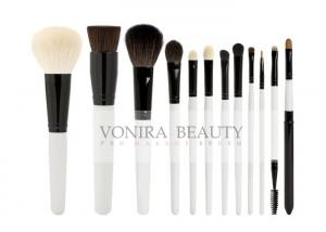 China Professional Pearl Cosmetic Brush Kit With Nature Hair Bristles on sale