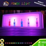 Color del RGB que cambia el cubo de hielo iluminado del vino del LED