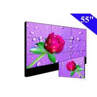 Full HD 55 Inch LCD Video Wall 16.7M Color 700Nits For KTV TV Background Stage