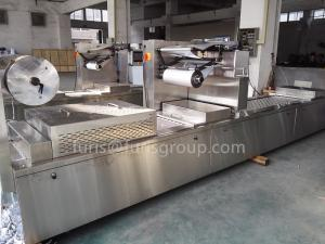 China Full Automatic Vacuum Packing Machine For Packing Meat Corn Sausage All Kinds Of Food on sale