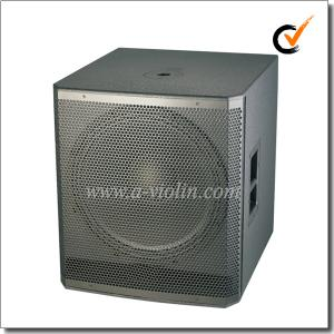 China 18 do armário ativo do orador do Subwoofer 98dB da pintura da polegada orador de madeira (PS-1850W) on sale