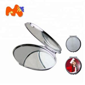 China Foldable Personalized Compact Mirror Favors , Totem Gold Compact Mirror Favors on sale