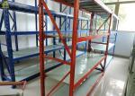 300KG/ Layer Supermarket Storage Racks 68X35X1.0mm Disassembly Columns