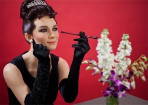 China Museum Memorial Realistic Celebrities Wax Figures Vivid Silicone Resin Art Figures on sale