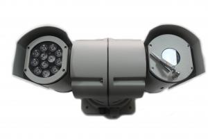 China IR Night Vision PTZ Rugged high speed Police car Cameras mounted outdoor on sale