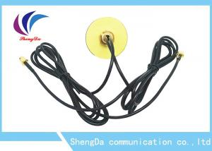 China Dual Band 4G High Gain LTE Antenna GPS Navigation Combined Aerial With SMA Male Connector on sale