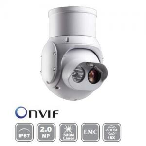 China 2Mp Full HD IR/Laser Network PTZ Dome Camera  GCS-HDL3554-S23/R22 on sale
