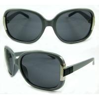 Black Elegent Fashion Ladies Sunglasse Meet ANSI Z80.3 BP-8430 Acrylic Polarized Lens
