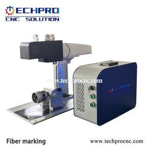China Mopa Fiber laser marking machine for color making TPJ-20W on sale