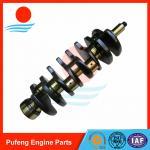 窒化熱-掘削機EX120-5 EX130 ZAX120-6のための扱われたクランク軸4BG1 OEM 8971129812